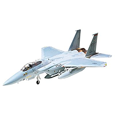 Tamiya Models Mcdonnell Douglas F-15C Eagle Model Kit: Toys & Games