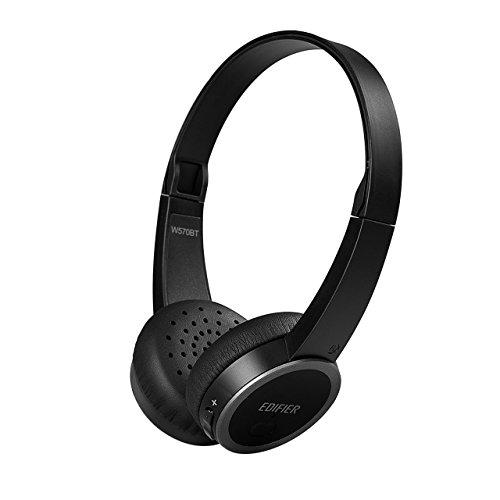 Edifier W570BT Bluetooth On-Ear Headphones – Lightweight Wireless Headset (Black)