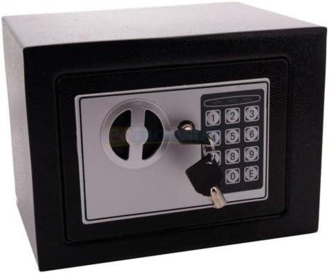 New Durable Digital Electronic Safe Box Keypad Lock Home Office Hotel Black US