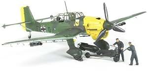 Tamiya 37008 1/48 Junkers JU87 B-2 Stuka w/Bomb Loading Set (japan import)