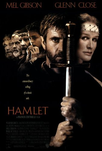 Image result for hamlet movie poster gibson