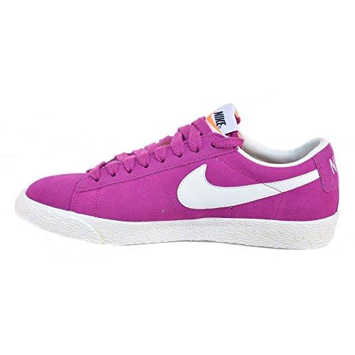 Blazer Scarpe Fuxia 517371 Nike bianco Low vAq0w11SnU