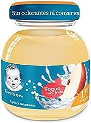 Nestlé Baby & Me Bebida Hidratante GERBER Toque de Fruta Etapa 1 Manzana 118 ml, Paquete d