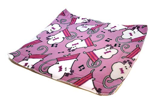 Fleece Pee Pad Custom Sizes Offered Created By Laura Waterproof Puppy Pads 20x20 Non-Slip Perfect For Protect Furniture and Cloth From Pet Pee Multicolored Sheep Pattern Pee-Proof