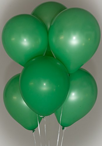 Green Latex Balloons (12