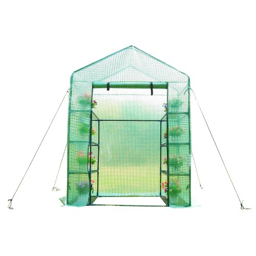 41wIh4wu5TL - Outsunny 6.5' x 4.67' x 2.5' Outdoor Compact Walk-in Greenhouse
