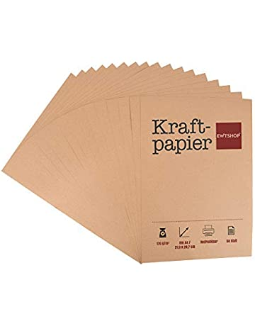 20 Blätter Matte Geschenkpapier Packpapier Kraftpapier Deko Papier DIY