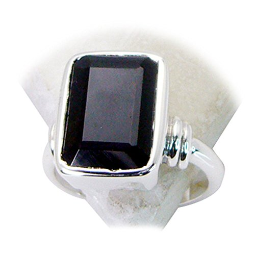 ing Sterling Silver Rectangle Shape Astrology US 4,5,6,7,8,9,10,11,12 ()