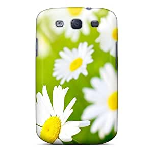 For Galaxy Case, High Quality Vector Flowers Beauty For Galaxy S3 Cover Cases