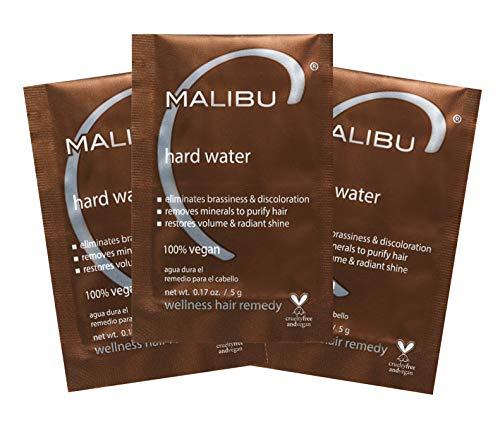 Malibu C Hard Water Wellness Hair Remedy, 3 ct.