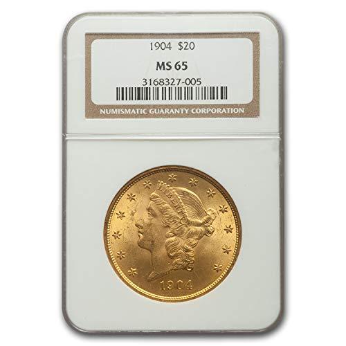 1904 $20 Liberty Gold Double Eagle MS-65 NGC G$20 MS-65 NGC