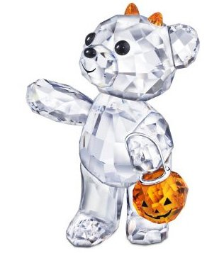 Swarovski Crystal 2011 Halloween Kris Bear Crystal Figurine