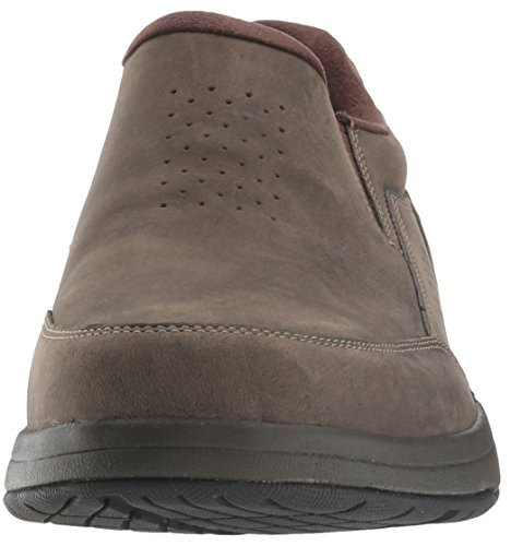 Park Brown Oiled Barecove Dark Shoe On Slip Walking Men's Rockport P6qwEE