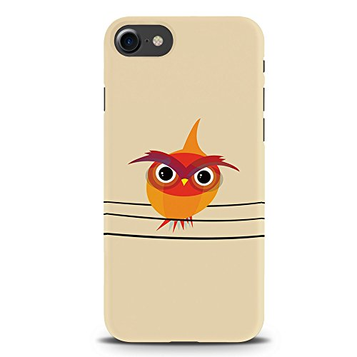Koveru Back Cover Case for Apple iPhone 7 - Angry Owl Bird