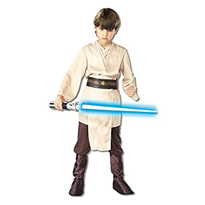 Rubies Star Wars Classic Child's Deluxe Jedi Knight Costume, Small: Toys & Games