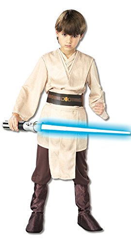 Jedi Costume Toddler (Rubies Star Wars Classic Child's Deluxe Jedi Knight Costume,)