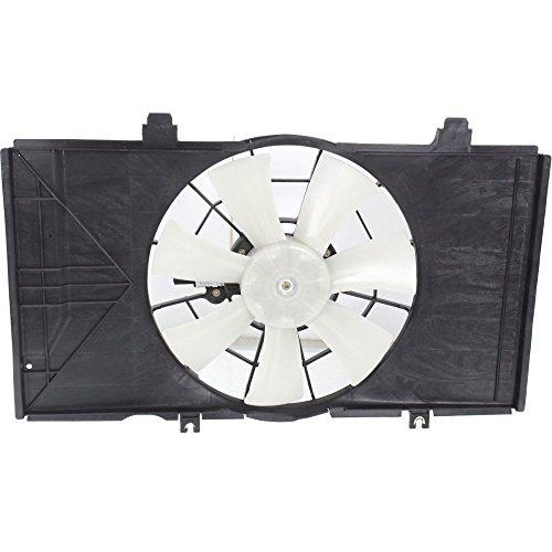 Evan-Fischer EVA24572021998 New Direct Fit Radiator Fan Assembly for NEON 02-05 Manual Transmission 3-Speed Single Fan 2.0L ENG