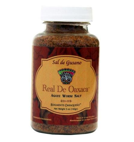 Sal de Gusano - Agave Worm salt 5 oz by Real De Oaxaca