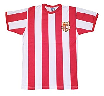 Old School Football Retro Brentford - Camiseta de Fútbol Estilo 1971-73 con Logo Bordado