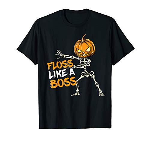 Floss Like A Boss Dental Assistant Dentist Halloween Costume T-Shirt