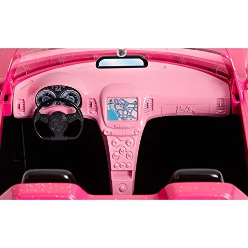Barbie Glam Convertible, Pink/Black