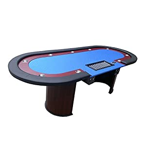 Professional solid wood poker table 10 for 10 player poker table top