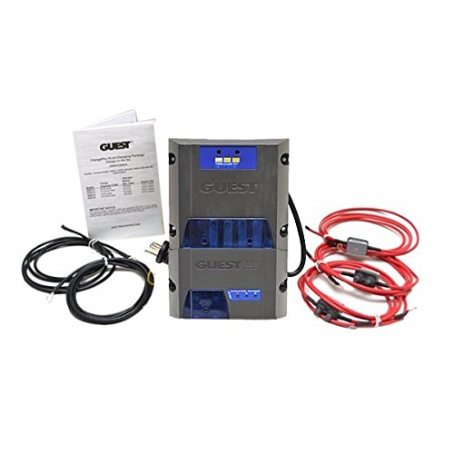 Marinco 36082-24 8 Amp 24 V Dual Output Marine On-Board Battery Charger and Alternator Module
