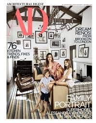 Architectural Digest Magazine (November 2018) Alessandra Ambrosio Cover