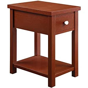 Better Homes And Gardens Oxford Square End Table Red Kitchen Dining