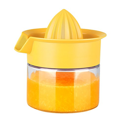 Home Basics Manual Juicer Yellow product image