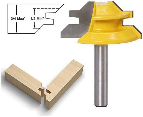 1/4 Zoll Schaft 45 Grad Verschluss Mitre Fräserbit 3/4 Zoll Auf Joint Fräser Holzbearbeitungswerkzeuges 04.01 * 1-1/2