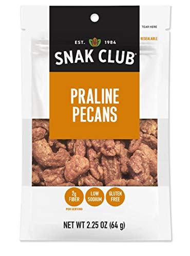 Snak Club Snak Club Praline Pecans, 2.25-oz, 6-Pack, 2.25 Ounce