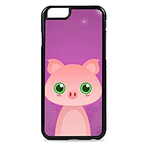 Case Fun Case Fun Pig by DevilleART Snap-on Hard Back Case Cover for Apple iPhone 6 4.7 inch