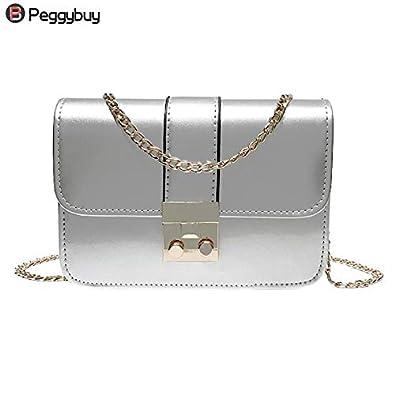5bb05821c18 Amazon.com: Mini Bag Women's Crossbody Bags Women Handbags Patent ...