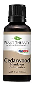 Cedarwood Himalayan Essential Oil. 30 ml (1 oz). 100% Pure, Undiluted, Therapeutic Grade.