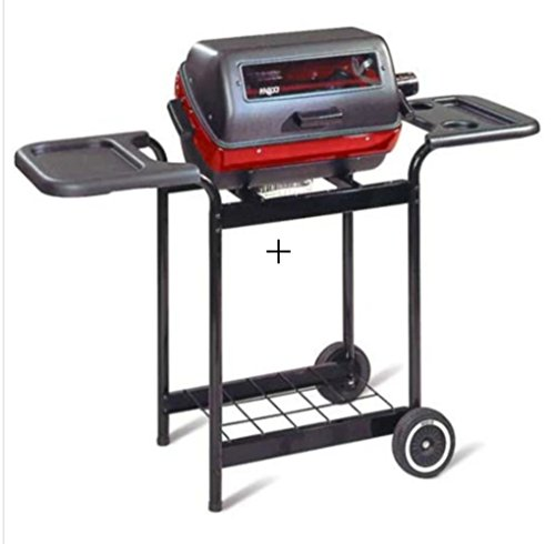 Meco Elite Electric Cart Grill Weather-Resistant Side Trays by MECO