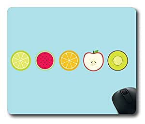 Sliced fruit Easter Thanksgiving Personlized Masterpiece Limited Design Oblong Mouse Pad by Cases & Mousepads by icecream design