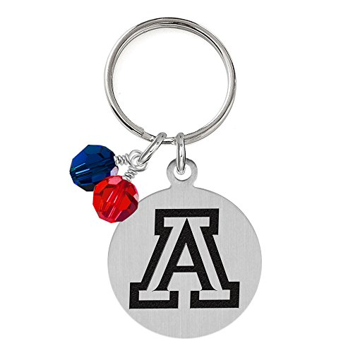 Wildcats Crystal (Arizona Wildcats Dog Tag with Crystals | Pet Tag | Small Size | Cat Tag | College Pet Tags)