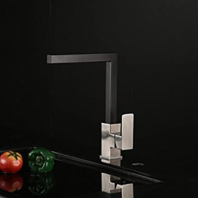 LightInTheBox Contemporary Kitchen Faucet - Nickel Brushed Finish