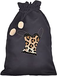 Travel Spotted Leopard Cami Lingerie Bag