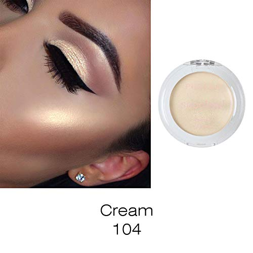 Blush Highlighter Make Up Shimmer Cream Face Contour Highlight Eyeshadow Glow Bronzer (104)