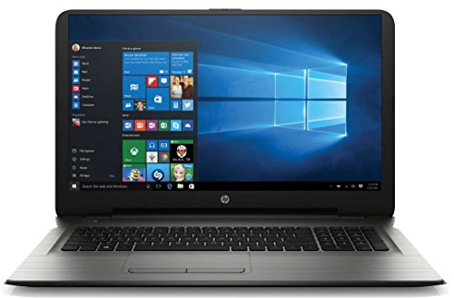 HP 17.3' HD+ Laptop Computer, Intel Dual Core i3-5005U 2.0GHz CPU, 8GB RAM, 1TB HDD, DVDRW, RJ-45, USB 3.0, WIFI, Bluetooth, HDMI, Windows 10 Home (Certified Refurbished)