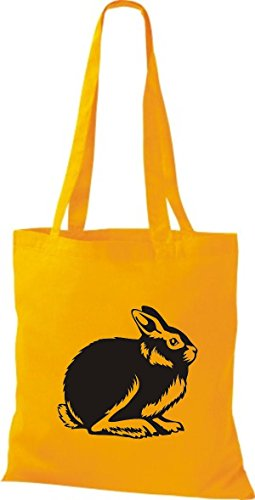 Goldgelb Mujer Shirtstown Tela Bolso Algodón Para De Amarillo 8CFxT