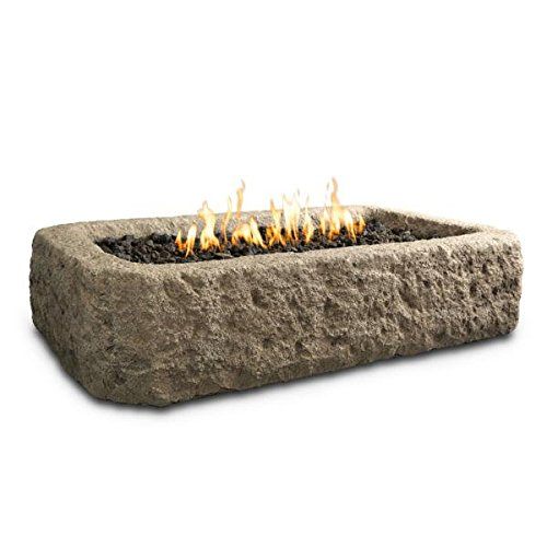 Real Flame Antique Stone