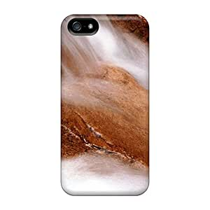 Fashionable UYFBaRS7266qfgwN Iphone 5/5s Case Cover For Water Landscapes Nature Sand Orange Protective Case
