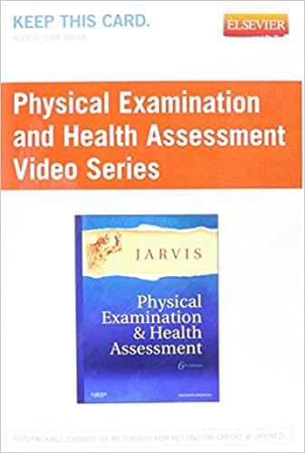 Physical examination and health assessment video series user guide physical examination and health assessment video series user guide and access code 1e pappsc edition fandeluxe Images