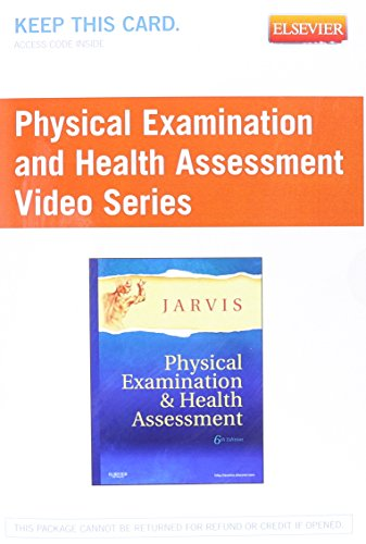 Physical Examination and Health Assessment Video Series (User Guide and Access Code) from Brand: Saunders