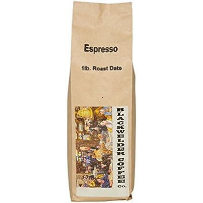 Blackwelder Coffee, 100% Arabica Espresso Whole Bean Coffee, Fresh Roasted Small Batch by Blackwelder Coffee