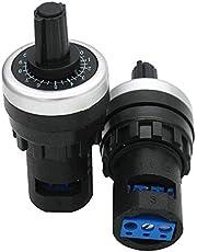 Taiss/LA42DWQ-22 22 22 mm 5K Gobernador Potenciómetro Rotatorio Inversor Convertidor Resistencia Variable Velocidad Drive Potenciómetro