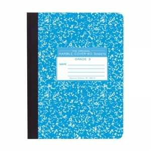 Bulk Composition Books, Hard Cover, 9.75''x7.5'', Grade 3 Ruled, 80 Sheets: Roaring Spring 97227 (48 Third Grade Practice Books) by Roaring Spring